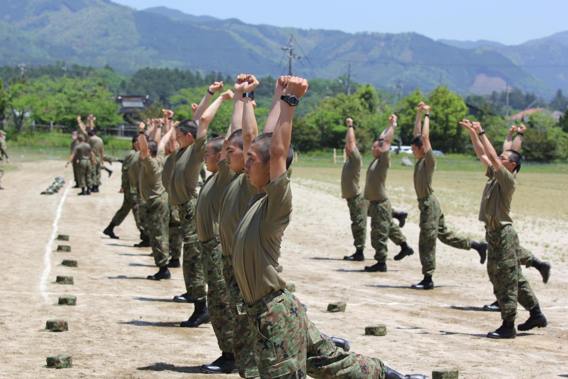 陸上自衛隊                 日本原駐屯地