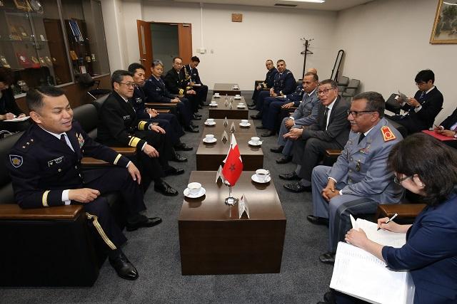 Coopération militaire maroco-japonaise 406_topics