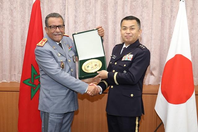 Coopération militaire maroco-japonaise 407_topics