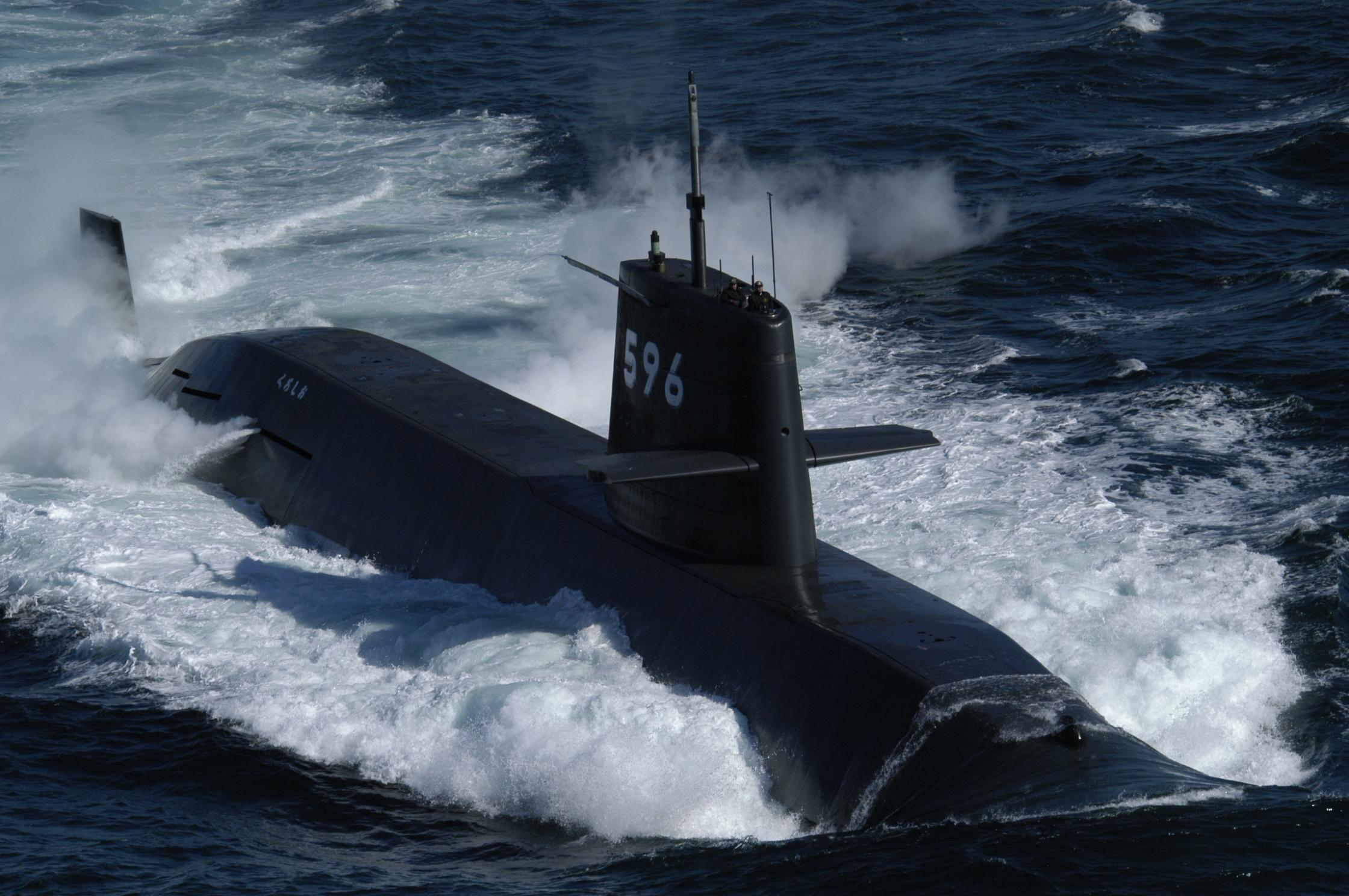 潜水艦「おやしお」型|潜水艦|装備品|海上自衛隊 〔JMSDF〕 オフィシャルサイト