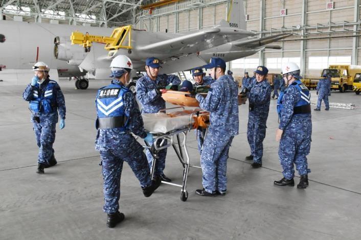 第1航空群の応用訓練